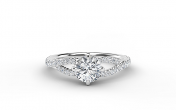Forevermark 4 PRONG SOLITAIRE ring