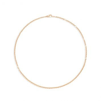 Rose gold Pomellato chain