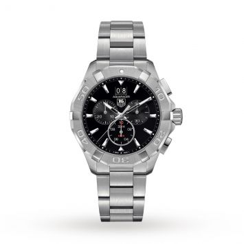 TAG HEUER AQUARACER WATCH BLACK DIAL