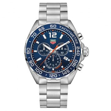 TAG HEUER FORMULA 1 BLUE DIAL WATCH