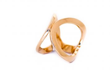 BAGUE PIA MARIANI COLLECTION FIVE(B)  EN OR 18K ROSE