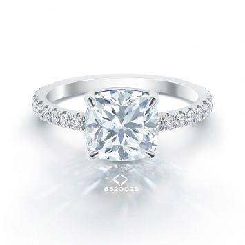 Bague Forevermark Coussin