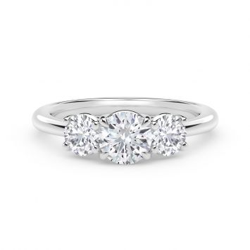 FOREVERMARK JOURNEY THREE STONE RING - BAGUE TROIS PIERRES