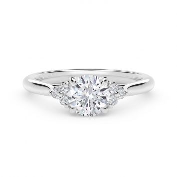 Forevermark Triple Accent Engagement Ring
