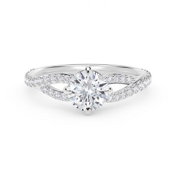 Forevermark Embrace Engagement Ring