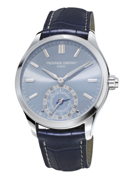 MONTRE HOROLOGICAL SMARTWATCH GENTS CLASSICS AVEC FOND BLEU