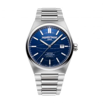 FREDERIQUE CONSTANT HIGHLIFE WATCH WITH BLUE DIAL