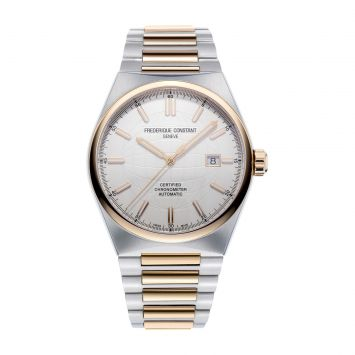 FREDERIQE CONSTANT HIGHLIFE WATCH WITH WHITE DIAL