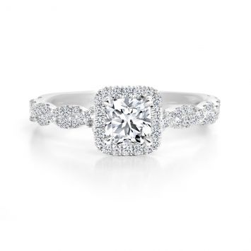 Forevermark Halo Ring