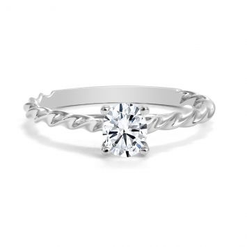 FOREVERMARK OVAL DIAMANT RING 0.55 CT
