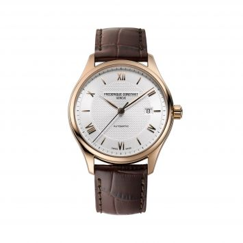 WATCH FREDERIQUE CONSTANT WITH SILVER DIAL