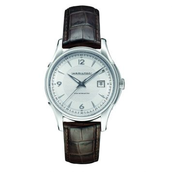 HAMILTON JAZZMASTER WATCH WITH SILVER DIAL