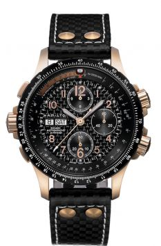 MONTRE KHAKI AVIATION X-WIND AUTO CHRONO AVEC FOND NOIR