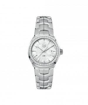 MONTRE TAG HEUER LADY LINK NACRE ET DIAMANTS