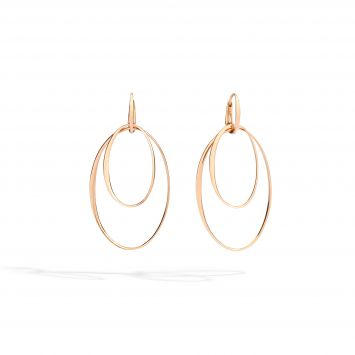 POMELLATO 18K ROSE GOLD EARRINGS