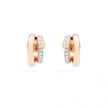 POMELLATO ICONICA EARRINGS WITH DIAMONDS