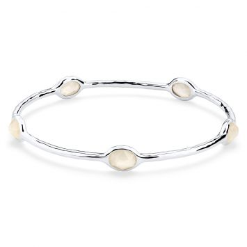 ROCK CANDY BRACELET IN STERLING SILVER WITH MOTHER-OF-PEARL