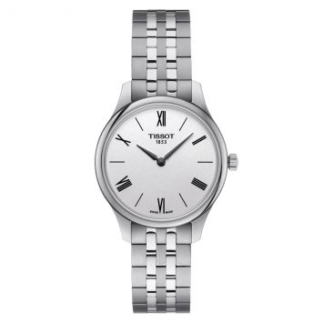 TISSOT TRADITION WATCH SILVER DIAL