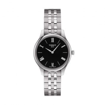 TISSOT TRADITION BLACK DIAL WATCH