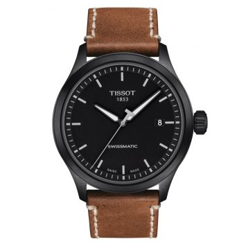 TISSOT GENTLEMEN WATCH BLACK DIAL