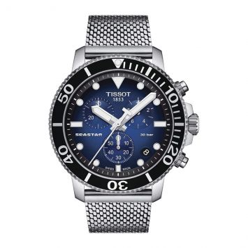 TISSOT SEASTAR BLUE DIAL WATCH