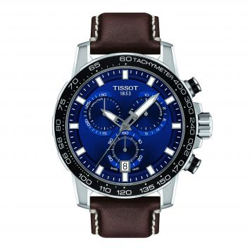 TISSOT SUPERSPORT WATCH BLUE DIAL