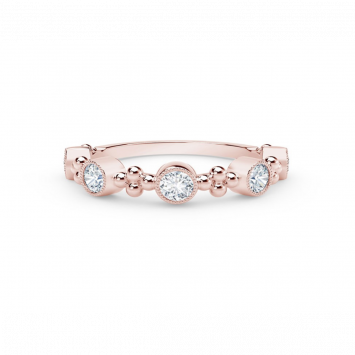Bague Forevermark Tribute en or rose