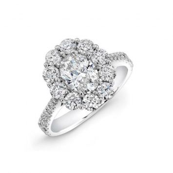 Forevermark OVAL HALO ring