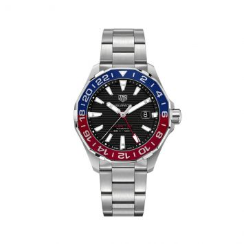 TAG HEUER AQUARACER WATCH IN BLUE AND RED
