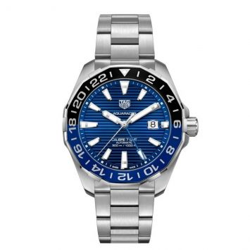 TAG HEUER AQUARACER WATCH WITH BLUE DIAL