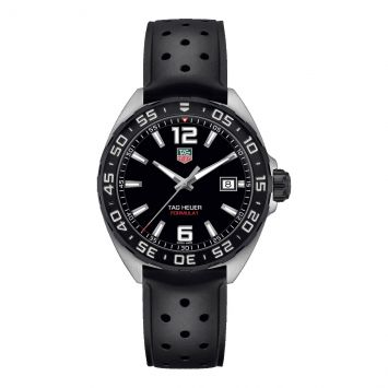TAG HEUER FORMULA 1 WATCH WITH BLACK DIAL