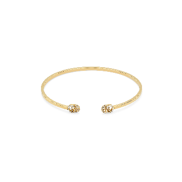 BRACELET GUCCI RUNNING G EN OR AVEC DIAMANTS