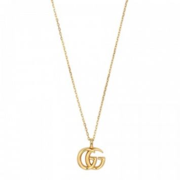 COLLIER GUCCI RUNNING G OR JAUNE 18K