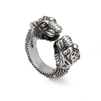 VINTAGE RING TIGERHEADS