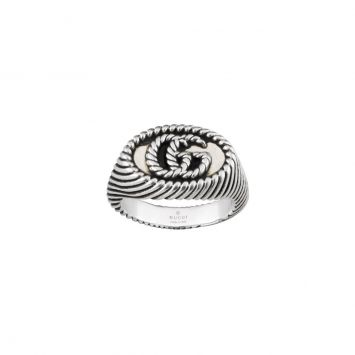 GUCCI MARMONT SILVER RING