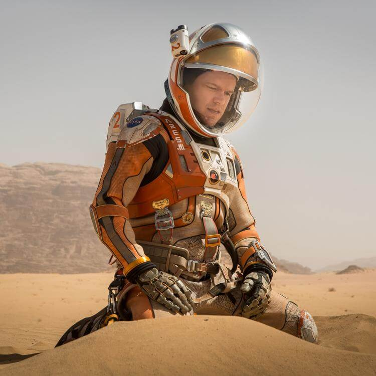 "Hamilton embarks upon an epic journey with ""The Martian"""