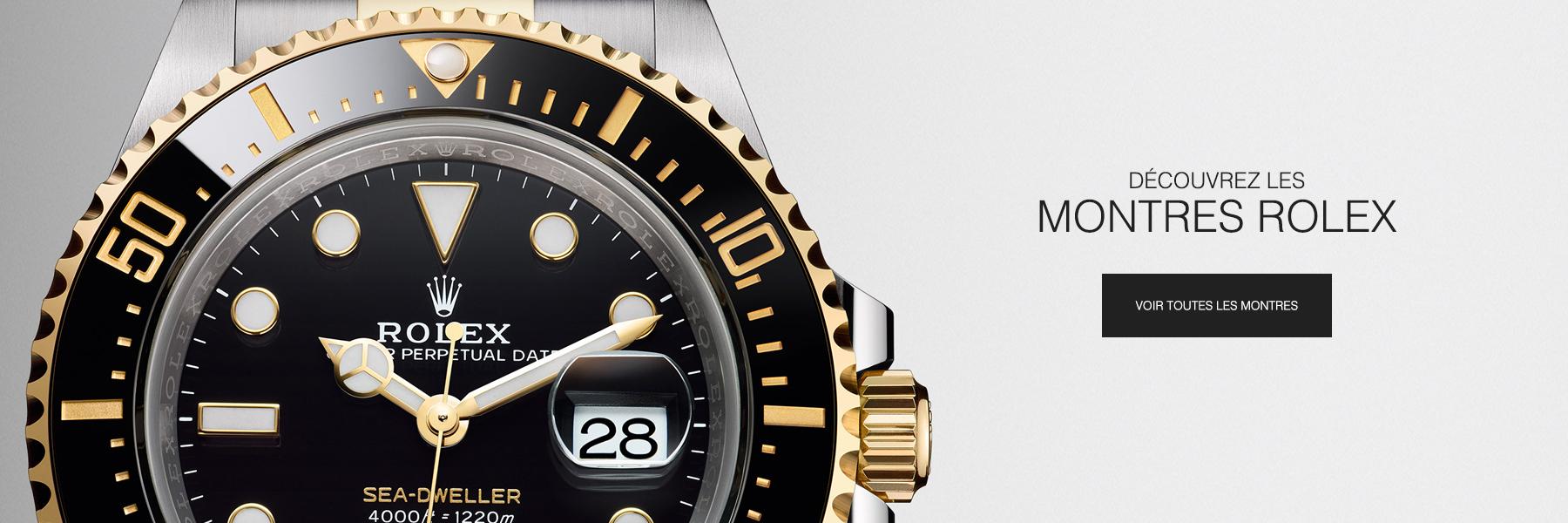 Découvrez les montres Rolex